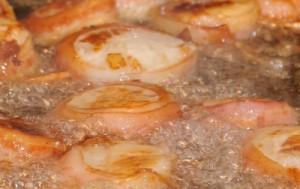 Bacon Wrapped Jumbo Sea Scallops
