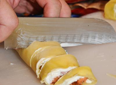 Smoked Salmon Crepes