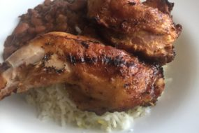 Signature Item: Grilled Pollo Con Mustasa